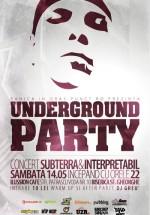 Underground party în Ilussion Underground Cafe din Bucureşti