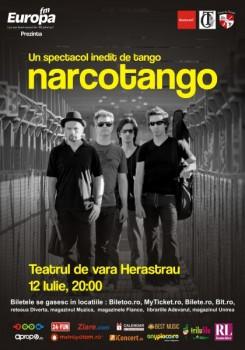 Concert Narcotango la Teatrul de Vară Herăstrău din Bucureşti