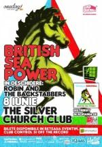 Concert British Sea Power în The Silver Church din Bucureşti