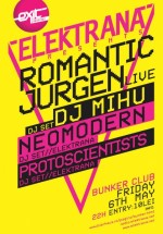 Concert Romantic Jurgen în Club Bunker din Timişoara