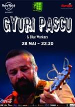 Concert Ioan Gyuri Pascu în Hard Rock Cafe din Bucureşti