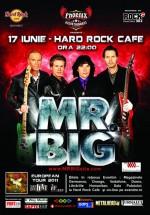 Concert Mr. Big în Hard Rock Cafe din Bucureşti
