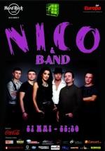 Concert Nico & Band în Hard Rock Cafe din Bucureşti