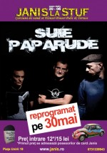 Concert Şuie Paparude în Janis la Stuf din Cluj-Napoca