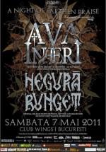 Concert Ava Inferi şi Negura Bunget în Wings Club