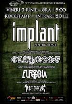 Concert Implant Pentru Refuz în Rockstadt Club din Braşov
