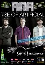 Concert lansare album ROA în The Silver Church din Bucureşti