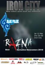 Concert Razna şi Blue Pulse în Iron City din Bucureşti