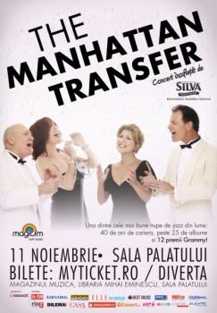 Concert The Manhattan Transfer la Bucureşti