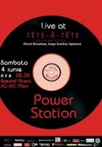 Power Station la Tête-à-Tête Coffee Art & Chill din Bucureşti