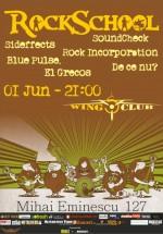 RockSchool în Wings Club din Bucureşti
