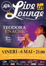 Concert Teodora Enache în Club The Ark din Bucureşti