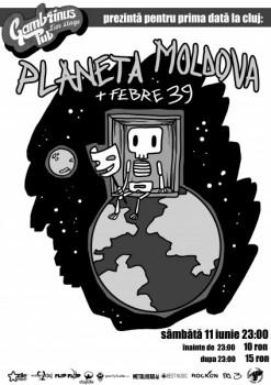 Concert Planeta Moldova în Gambrinus Pub din Cluj-Napoca