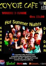 Hot Summer Nights în Coyote Cafe din Bucureşti