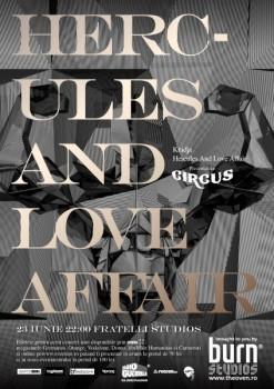 Hercules and Love Affair în Fratelli Studios din Bucureşti