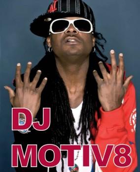 Mr. Motiv8 (Black Eyed Peas) în Fratelli Studios din București