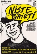 Concert Nişte Băieţi în Booha Bar din Cluj-Napoca
