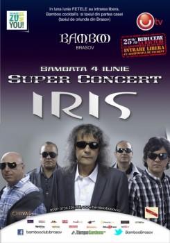 Concert Iris în Club Bamboo din Braşov