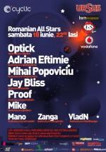 Romanian All Stars la Iaşi