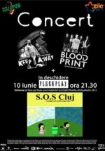 Concert Keep Away şi Bloodprint în Irish & Music Pub din Cluj-Napoca