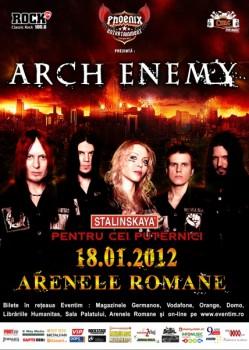 Concert Arch Enemy la Bucureşti