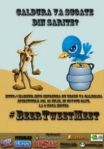 BeerTweetMeet în Coyote Cafe din Bucureşti