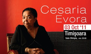 Concert Cesaria Evora la Timişoara – ANULAT