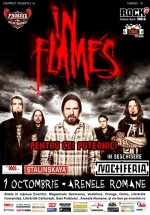 Concert In Flames la Bucureşti