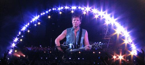 VIDEO: Filmări Bon Jovi la Bucureşti