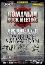 Romanian Rock Meeting la Arenele Romane din Bucureşti