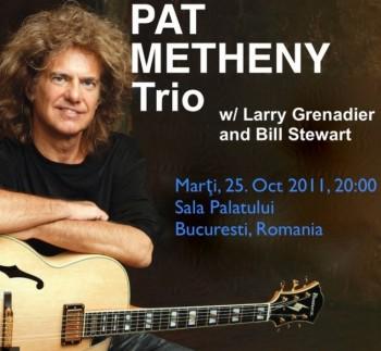Concert Pat Metheny Trio la Bucureşti