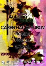 Afterhours Autumn Beats în Barocco Bar din Bucureşti