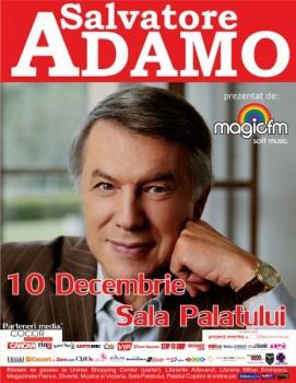 Concert Salvatore Adamo la Sala Palatului din Bucureşti