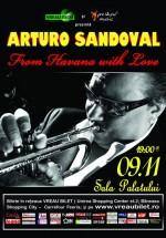 Concert Arturo Sandoval la Sala Palatului din Bucureşti – ANULAT