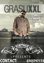 Concert Grasu XXL în The Vintage Pub din Bucureşti