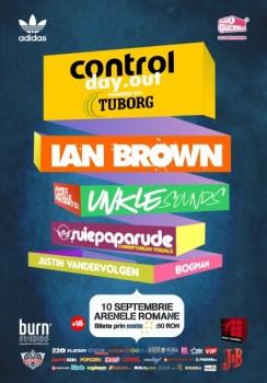 Concert Ian Brown (Control Day Out) la Arenele Romane din Bucureşti