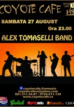Concert Alex Tomaselli Band în Coyote Cafe din Bucureşti