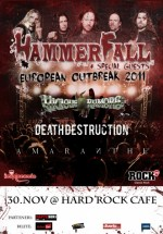 Concert Hammerfall la Bucureşti