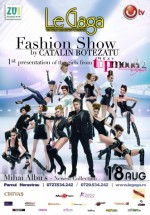 Fashion show by Cătălin Botezatu în Le Gaga din Bucureşti