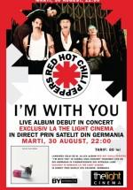 Concert Red Hot Chili Peppers la The Light Cinema din Bucureşti