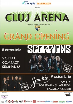 Cluj Arena Grand Opening