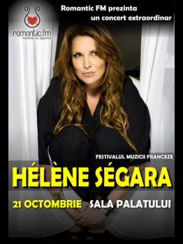 Concert Hélène Ségara la Sala Palatului din Bucureşti – AMÂNAT