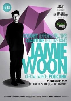 Concert Jamie Woon la Atelierul de Producţie din Bucureşti