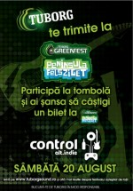 Pre-party Tuborg Green Fest Peninsula în Club Control din Bucureşti
