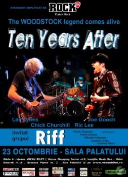 Concert Ten Years After la Bucureşti