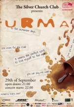 Concert URMA la Public Confessions în The Silver Church din Bucureşti