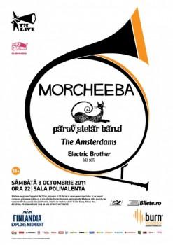 Concert Morcheeba şi Parov Stelar Band la Bucureşti
