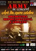 Reluarea stagiunii Army In Concert la Sala Radio din Bucureşti