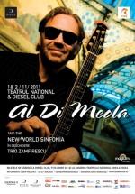 Concert Al Di Meola la Teatrul Naţional din Cluj-Napoca