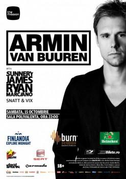 Armin van Buuren la Sala Polivalentă din Bucureşti